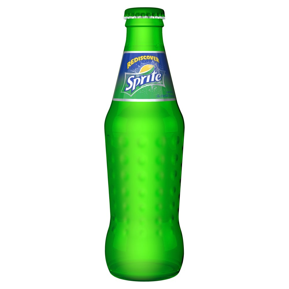 Sprite 330ml Glass Bottles