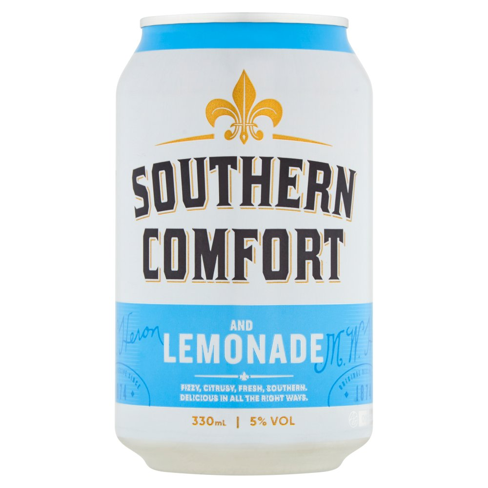 Southern Comfort Lemonade & Lime 330ml