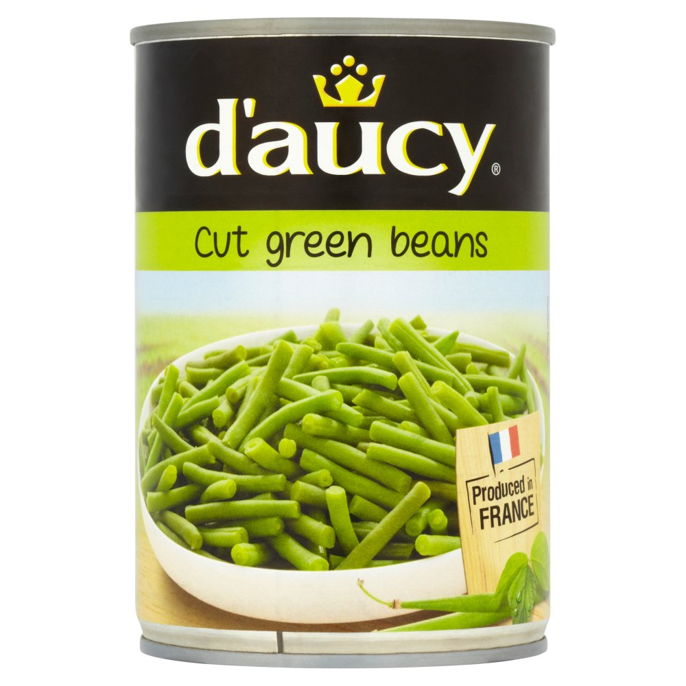 Daucy Fine Green Cut Beans