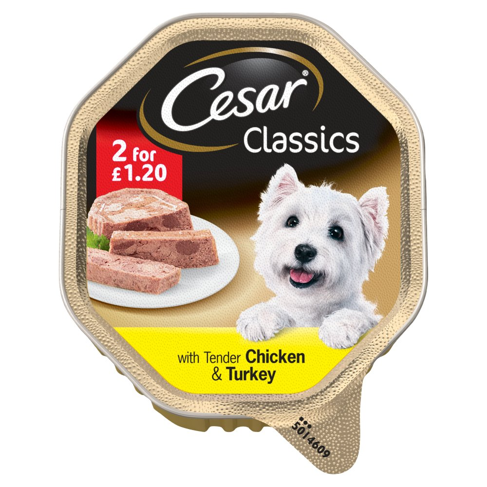 Cesar Classic Chicken & Turkey 2 For PM £1.20