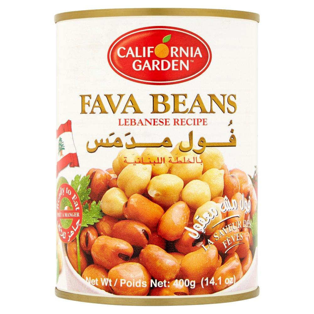 California Garden Fava Beans Lebanese Recipe 400g