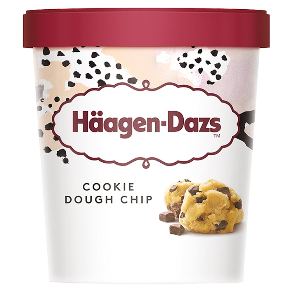 Haagen Dazs Cookie Dough