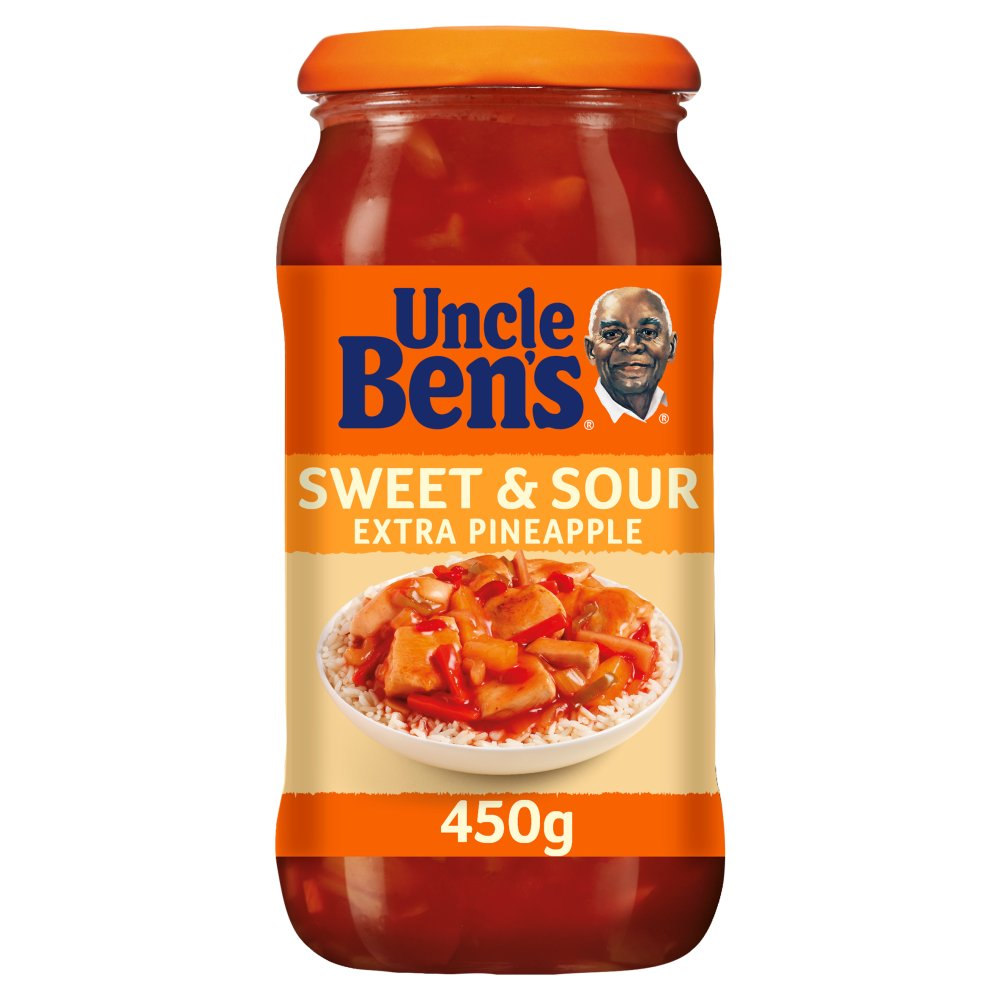 Uncle Bens Sweet and Sour Extra Pineapple Sauce 450g