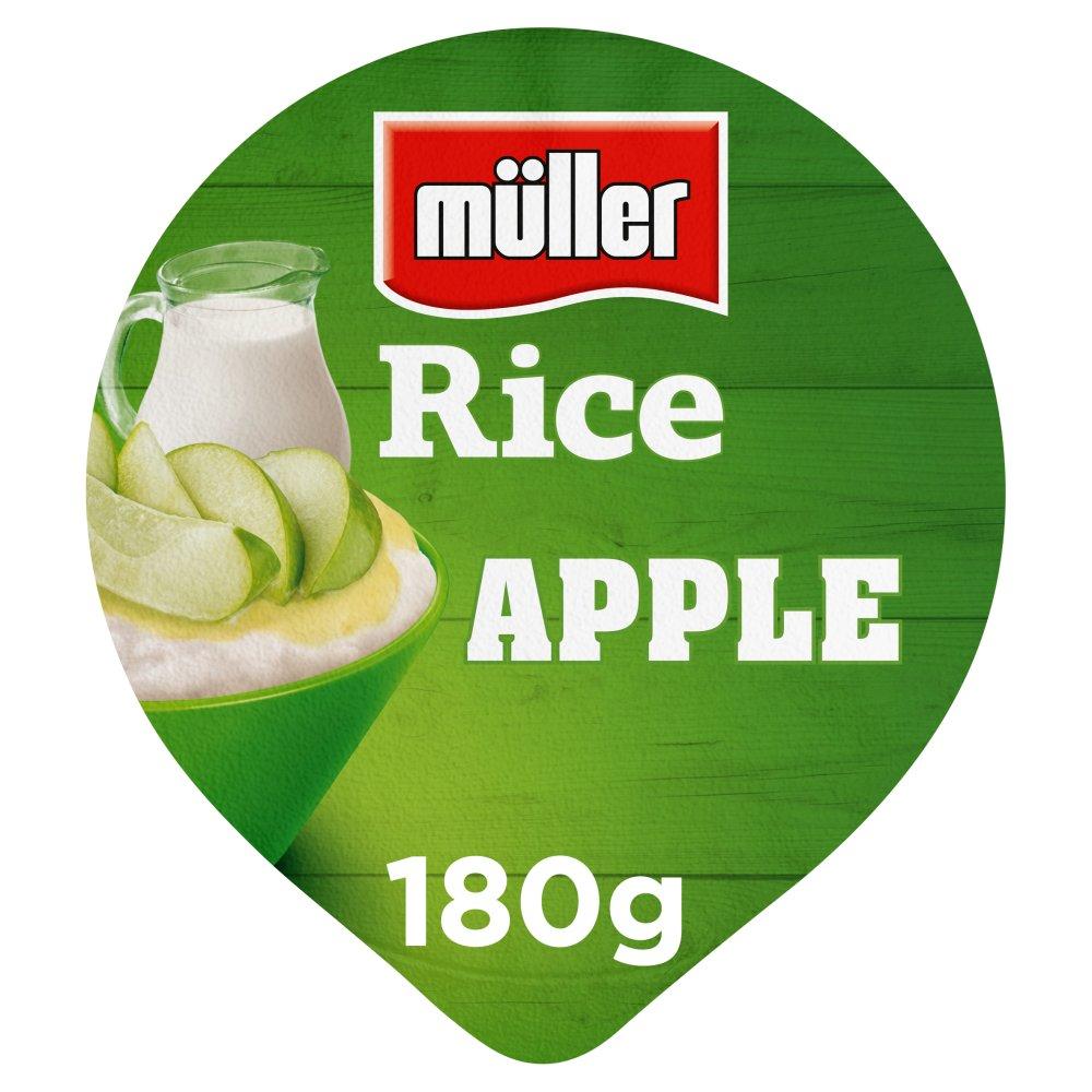 Müller Rice Apple Low Fat Pudding Dessert 180g