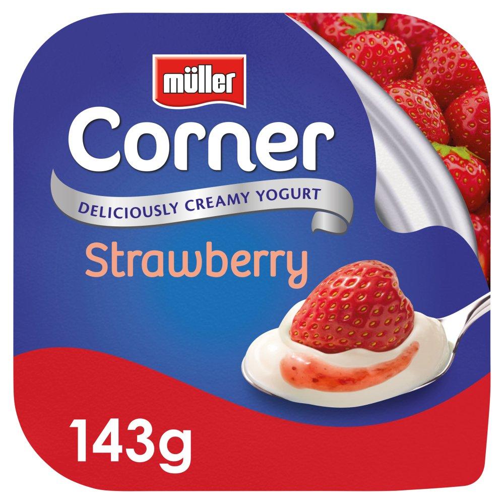 Müller Corner Strawberry Yogurt 143g