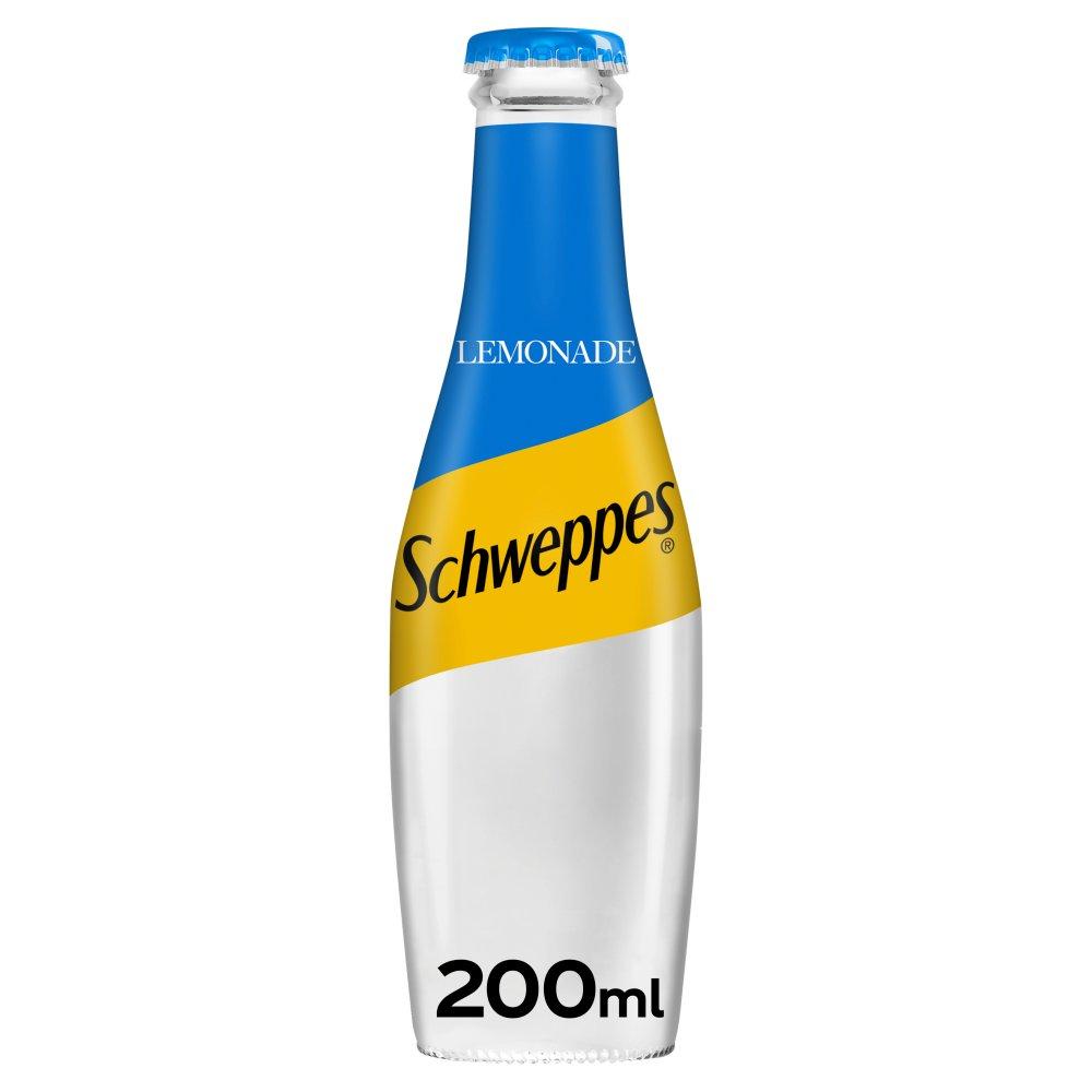 Schweppes Lemonade Glass Bottle 200ml