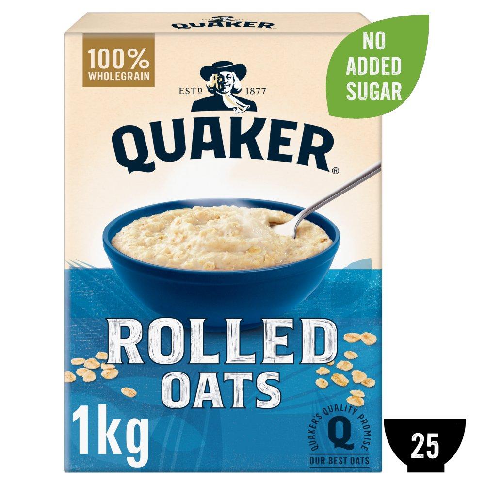 Quaker Rolled Porridge Oats 1kg