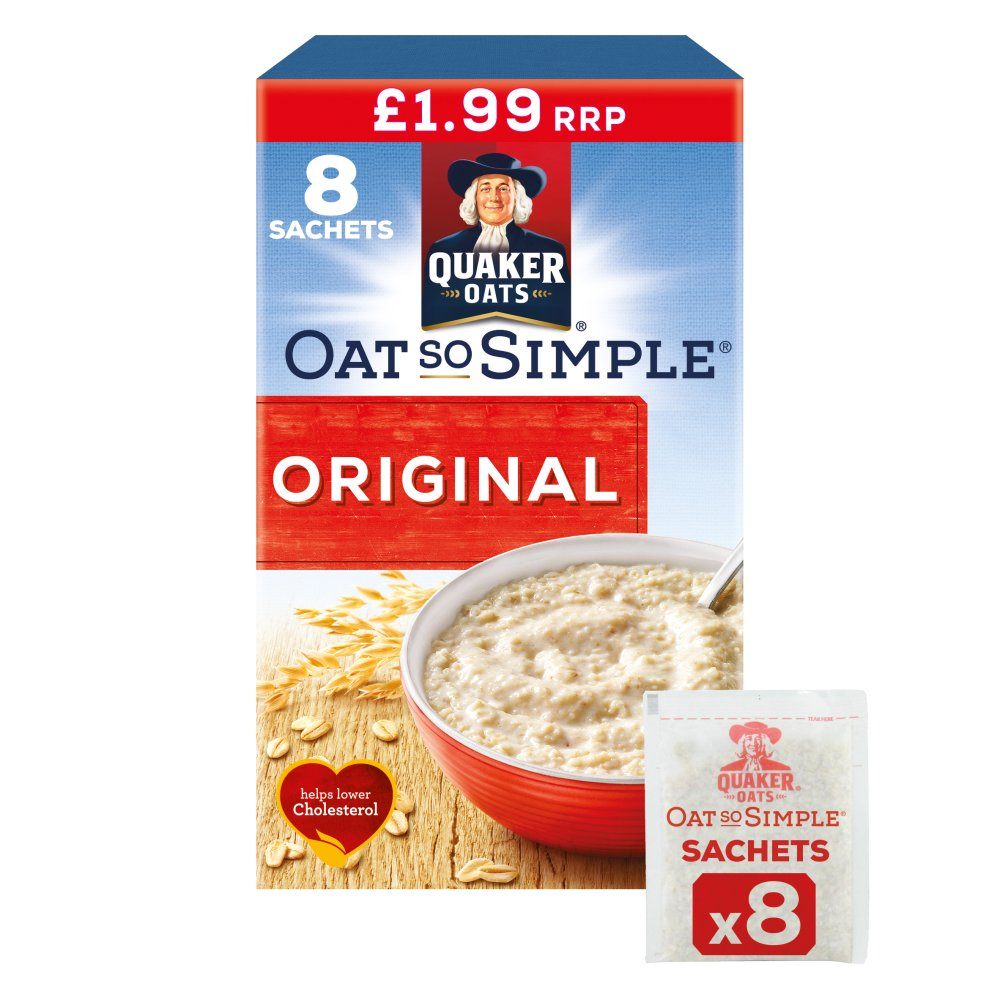 Quaker Oat So Simple Original Porridge PMP £1.99