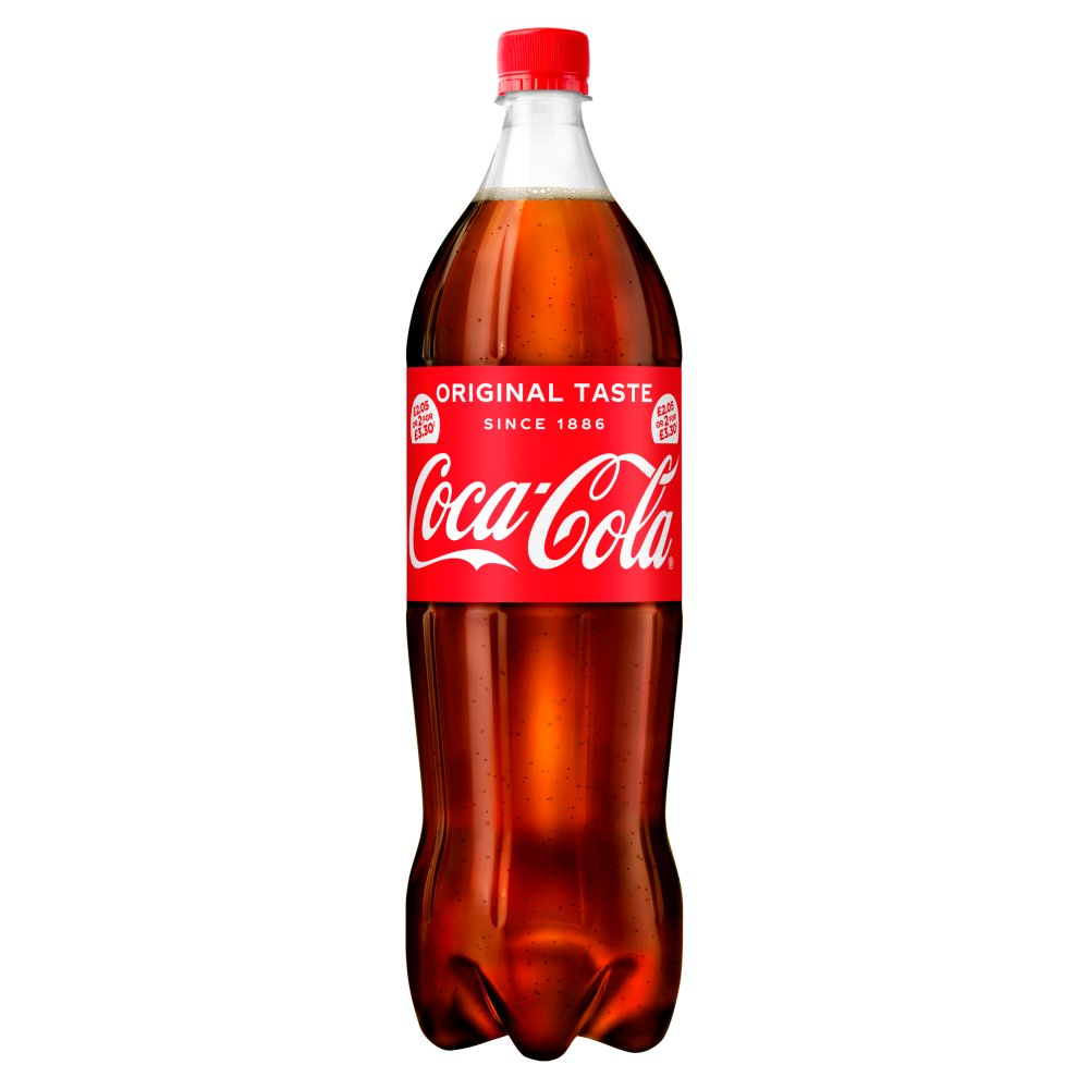Coca-Cola Original Taste 1.5L PMP £2.05 or 2 for £3.30