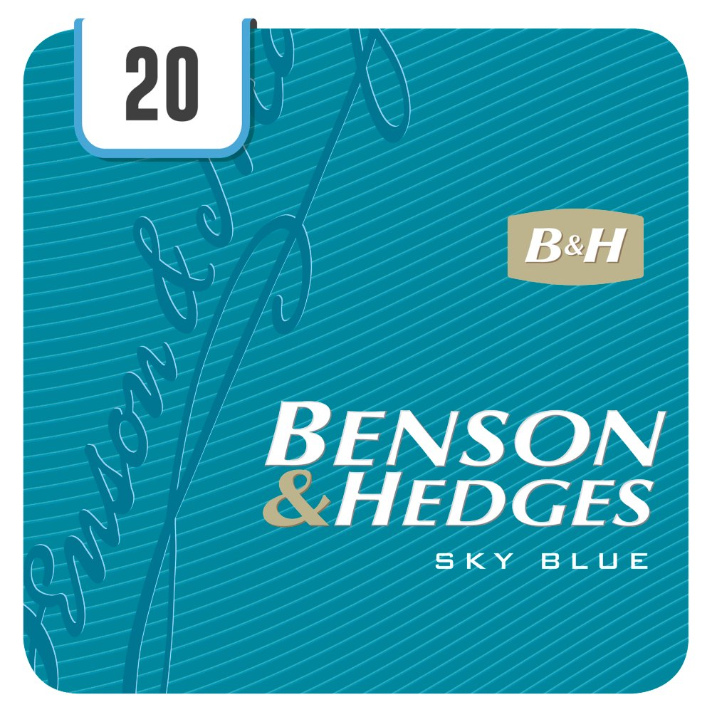 Benson & Hedges Sky Blue 20 Cigarettes