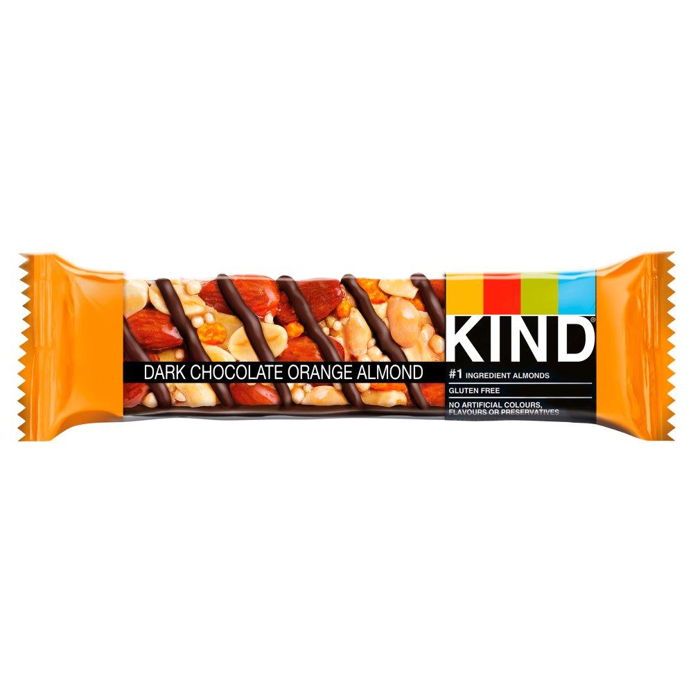 KIND Dark Chocolate Orange Almond Snack Bar 40g