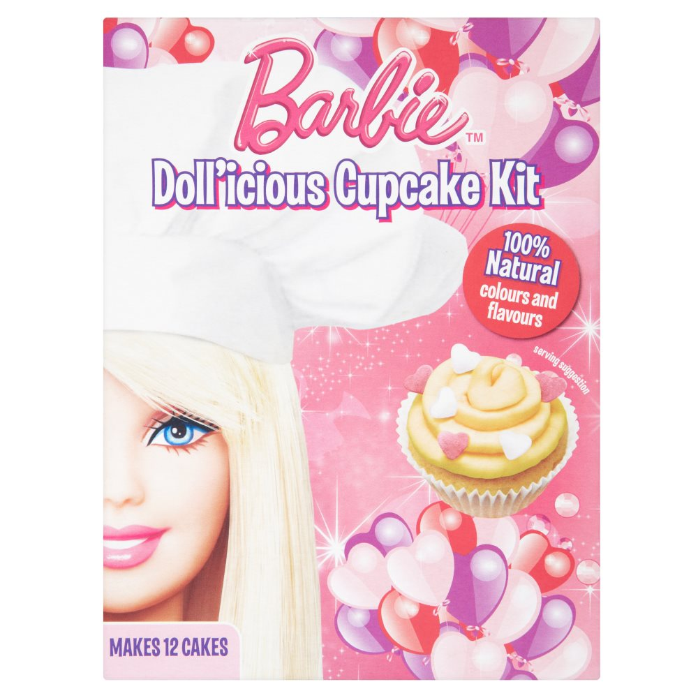 Greens Barbie Vanilla Cupcake Mix
