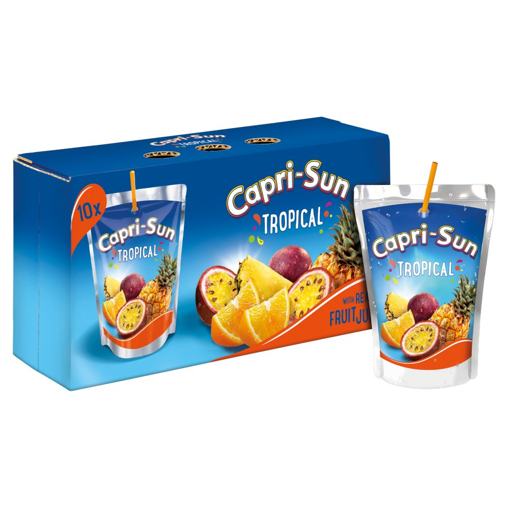 Capri Sun Tropical Orange