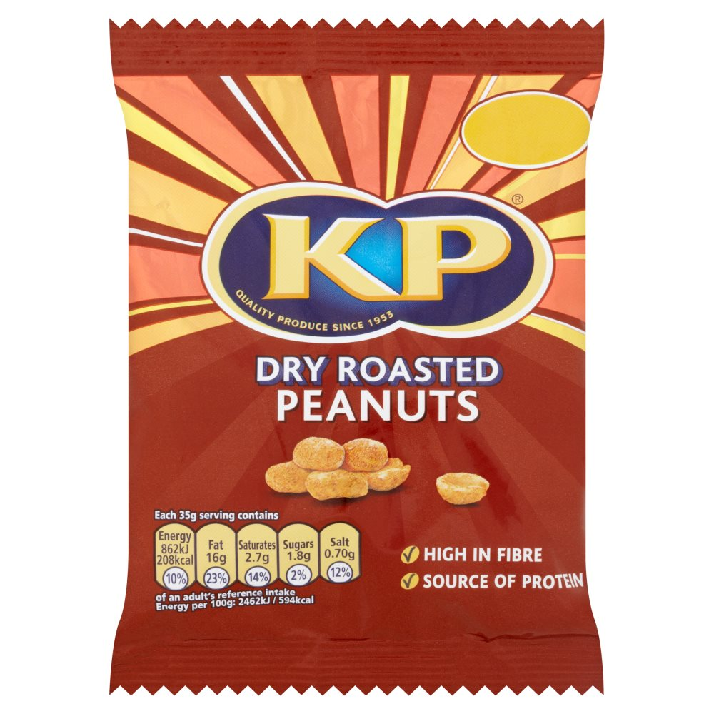KP Dry Roasted Peanut PM £1