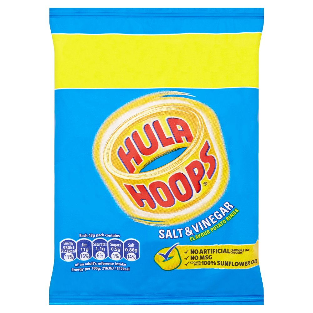 KP Hula Hoops Salt & Vinegar +25%