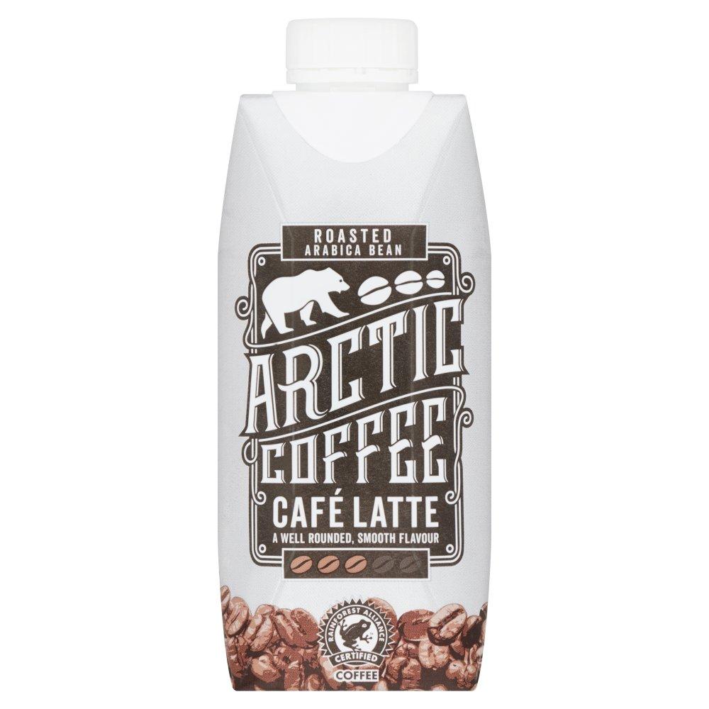 Arctic Fairtrade Roasted Arabica Bean Coffee Café Latte 330ml