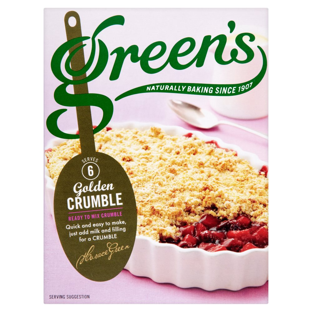 Greens Crumble Mix