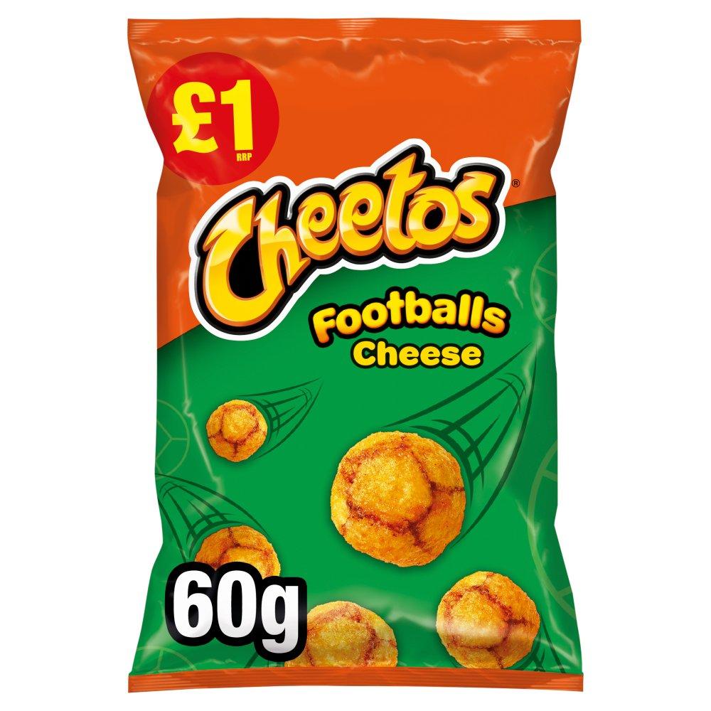 Cheetos Footballs Cheese Snacks £1 RRP PMP 60g