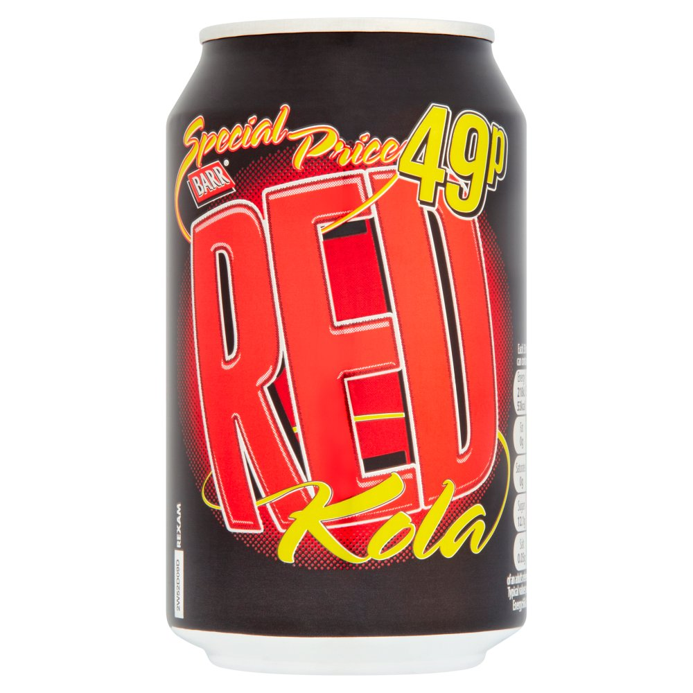 Barr Red Kola 330ml
