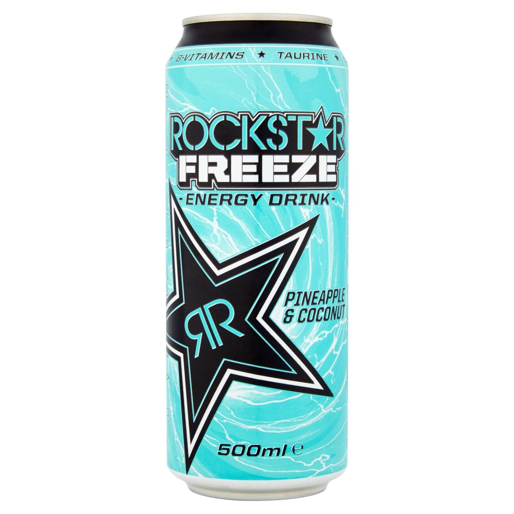Rock Star Freeze Pineapple & Coconut 99p