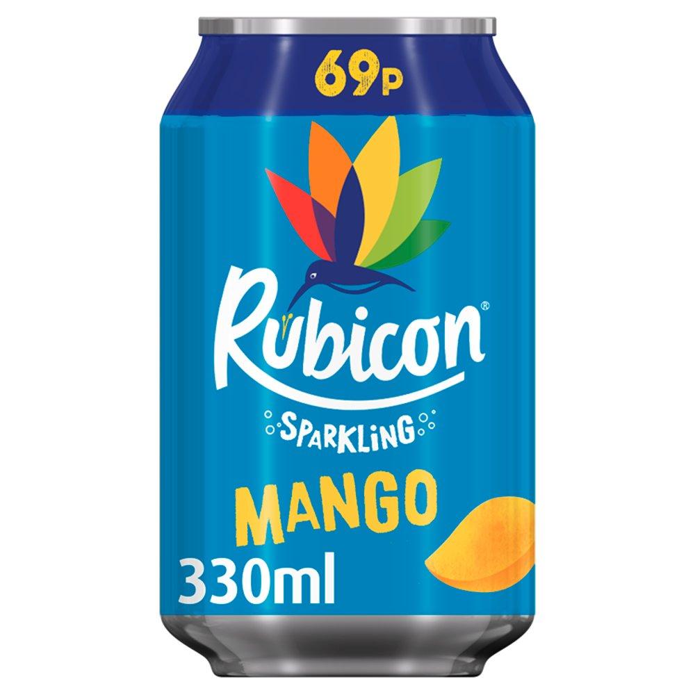 Rubicon Sparkling Mango 330ml