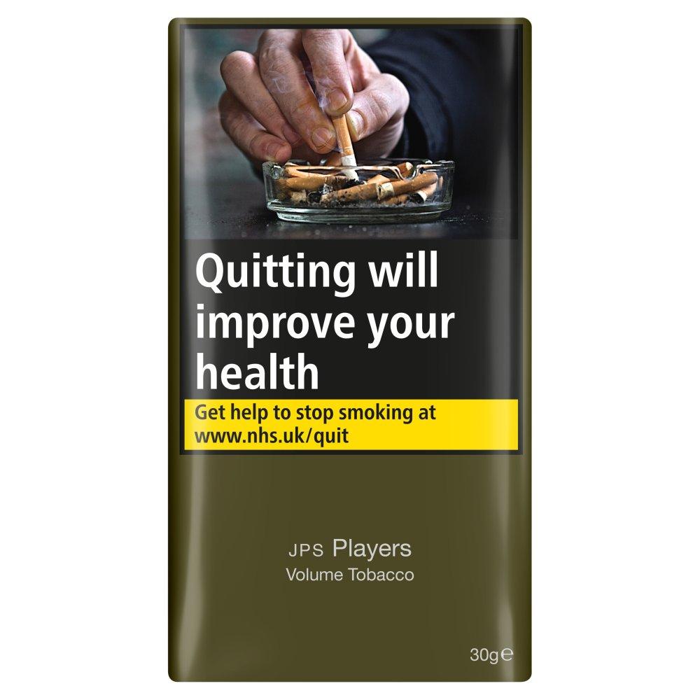 JPS Players Volume Tobacco 30g