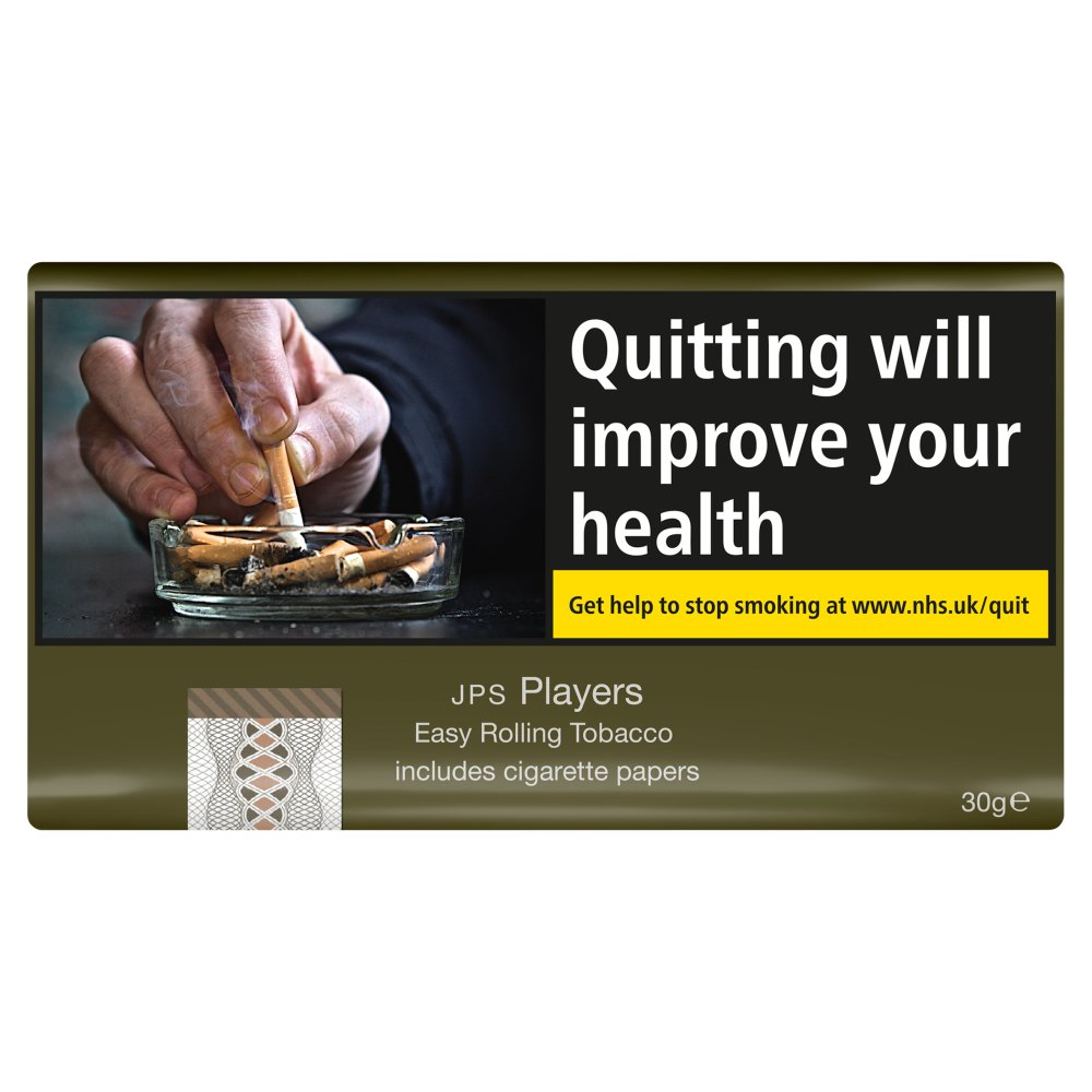 JPS Players Easy Rolling Tobacco including Papers 30g