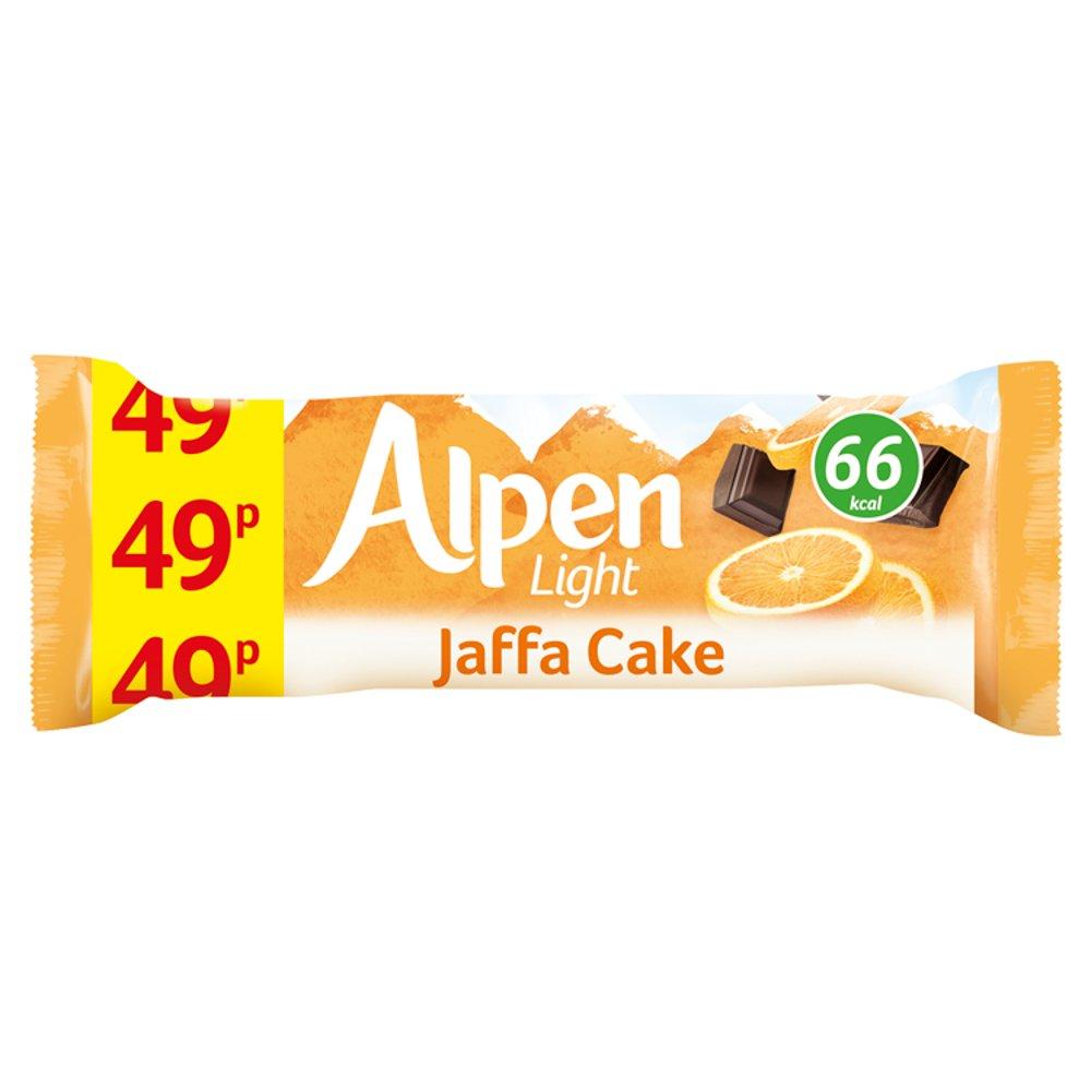 Alpen Light Cereal Bars Jaffa Cake 24 x 19g PMP 49p