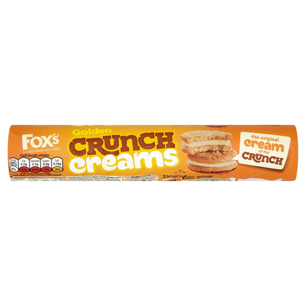 Fox's Golden Crunch Creams 230g