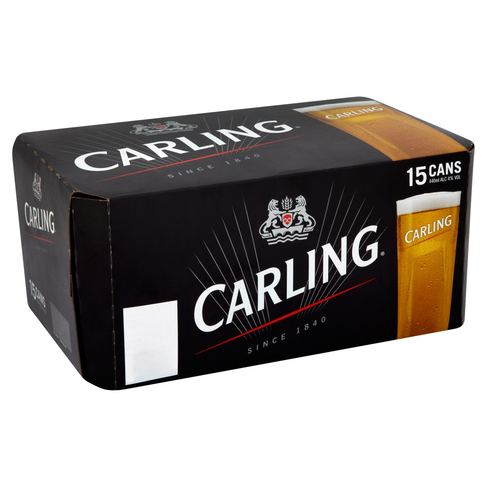 Carling Lager 15 x 440ml