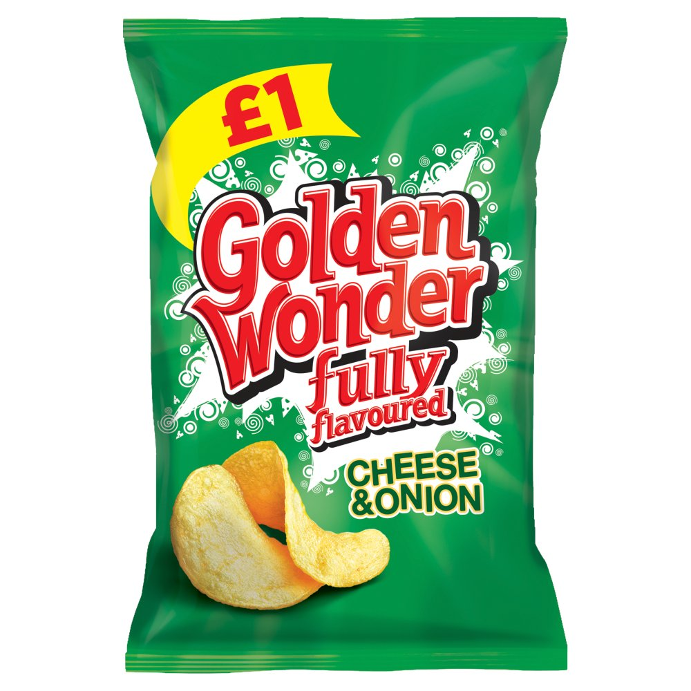 Golden Wonders Cheese & Onion PM £1