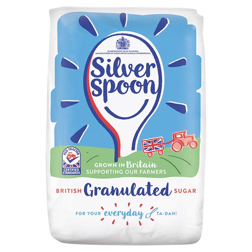 Silver Spoon British Granulated Sugar 1kg