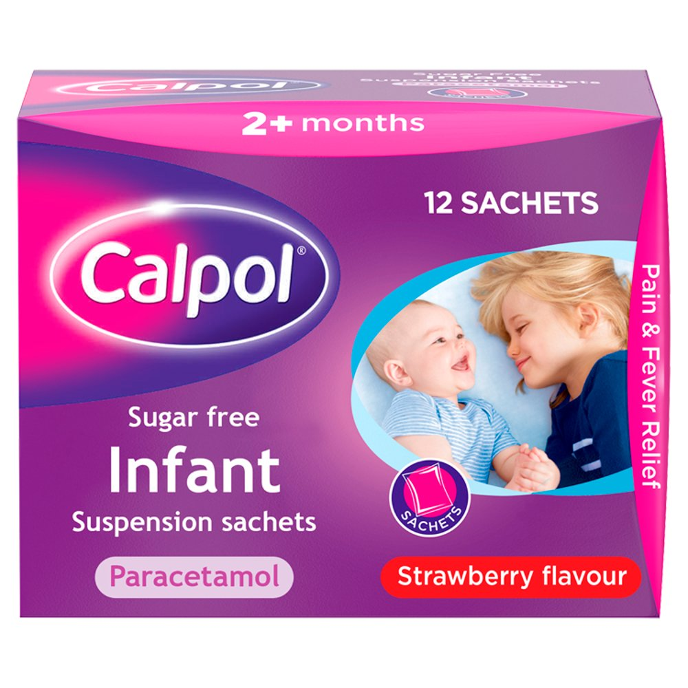 Calpol Infant Sugar Free Shachet