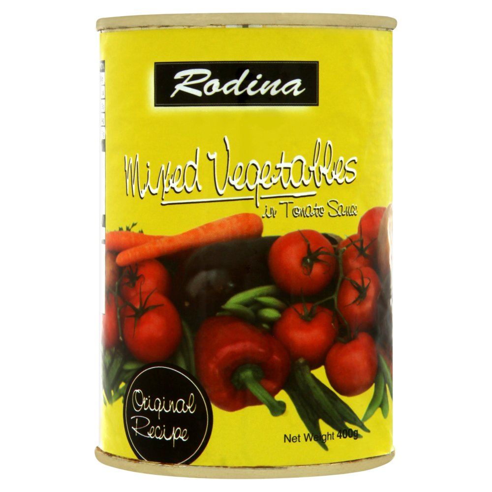 Rodina Mixed Vegetables in Tomato Sauce 400g