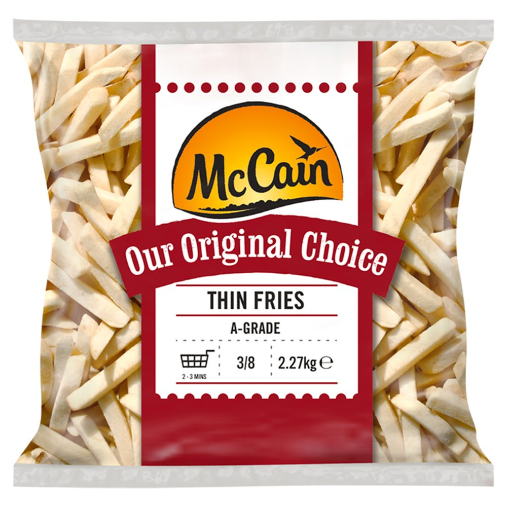 Mccain Thin Chips 3/8
