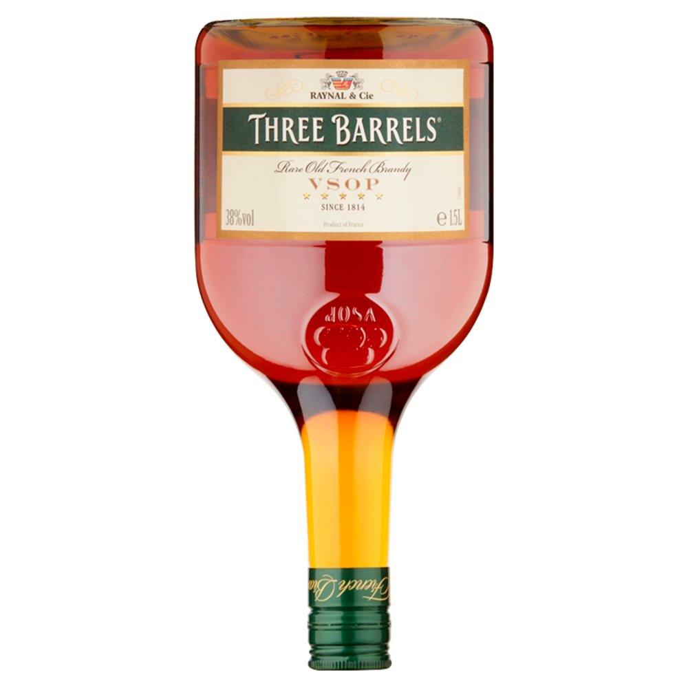 3 Barrels Brandy 38percent