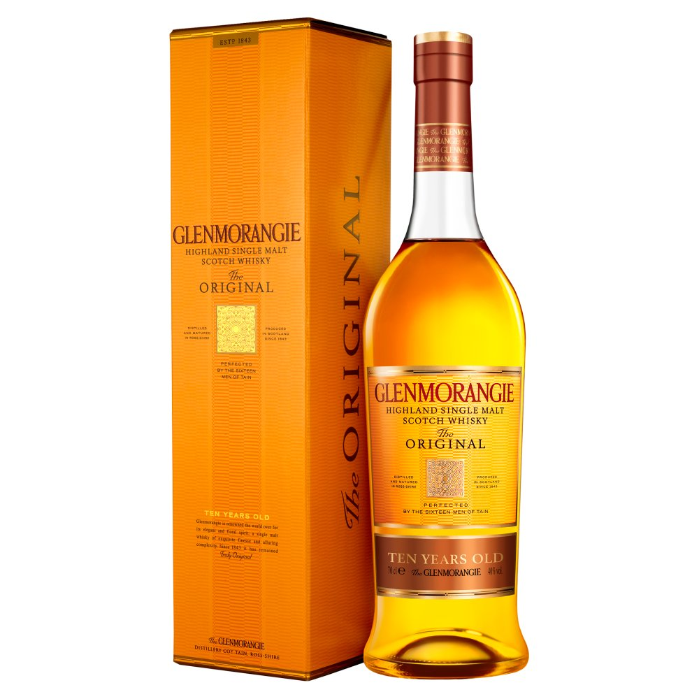 Glenmorangie The Original Highland Single Malt Scotch Whisky 70cl