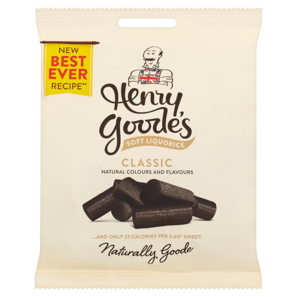 Henry Goode Soft Liquorice PM £1