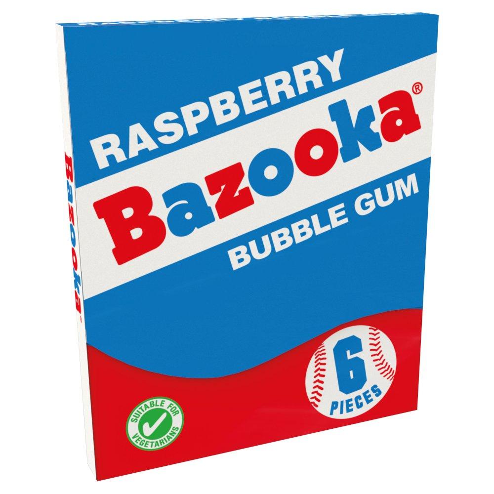 Tutti Frutti & Raspberry Bazooka Bubble Gum 33g
