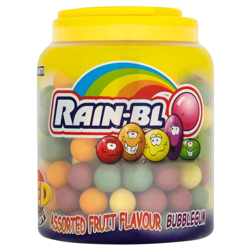 Zed Candy 180 Rain-Blo Assorted Fruit Flavour Bubblegum 1162.8g