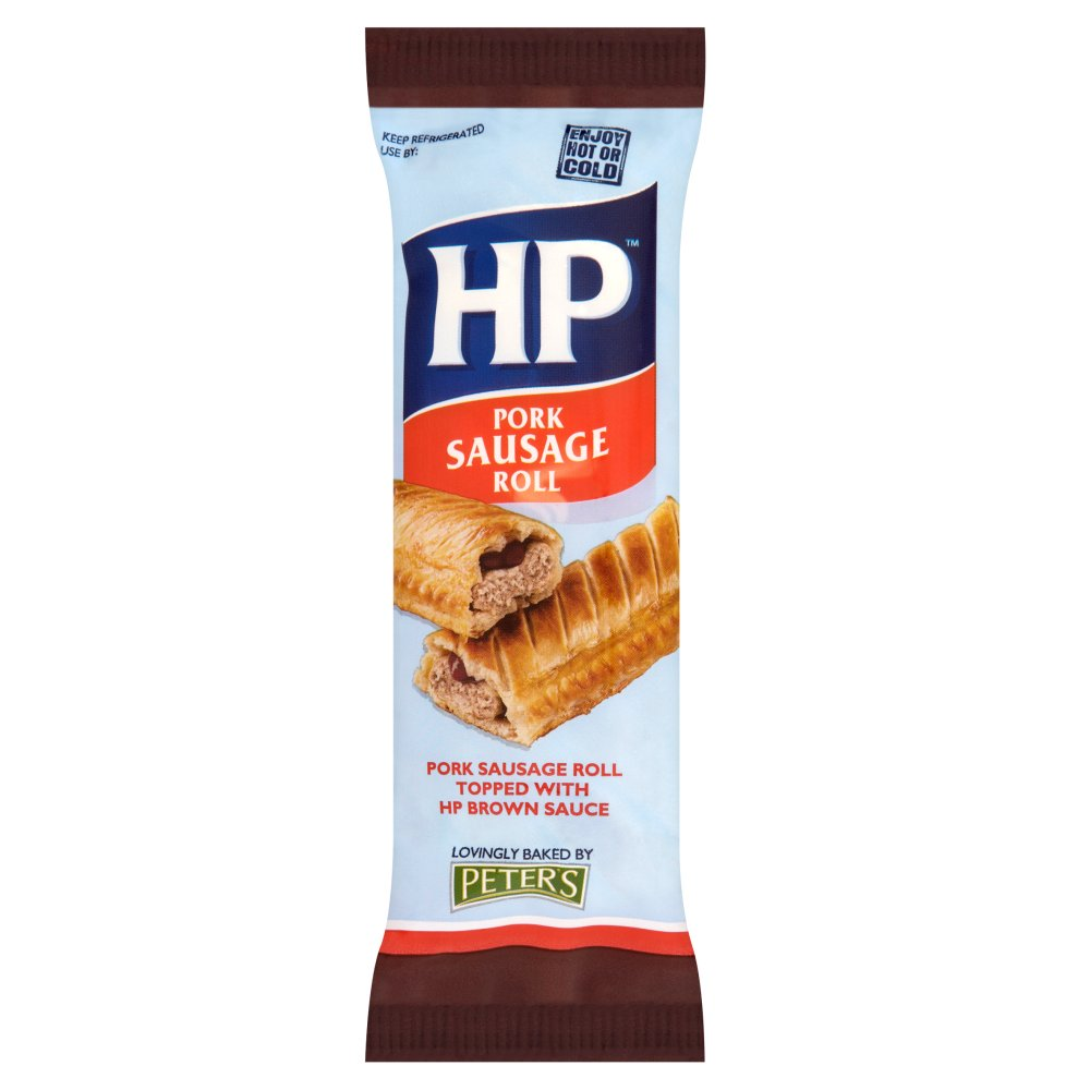 HP Sauce Sausage Roll