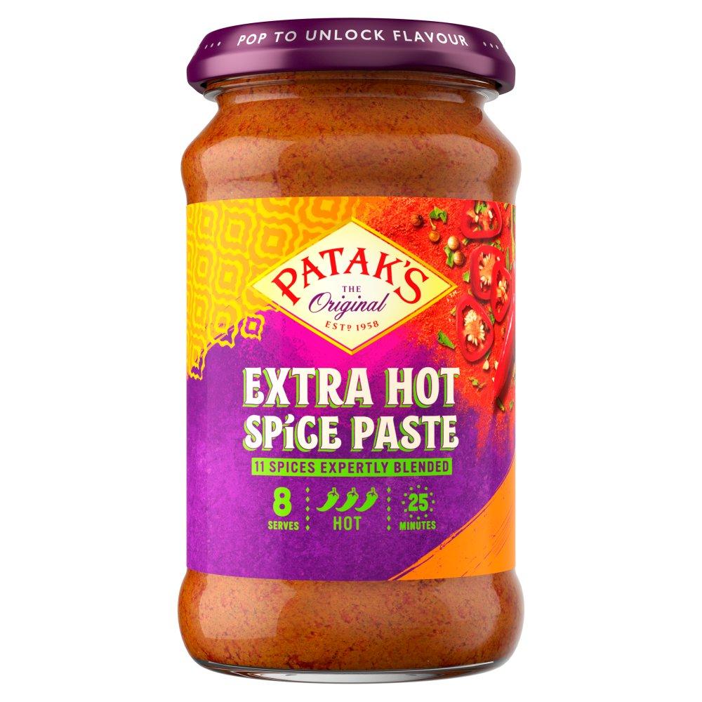 Patak's The Original Extra Hot Spice Paste 283g