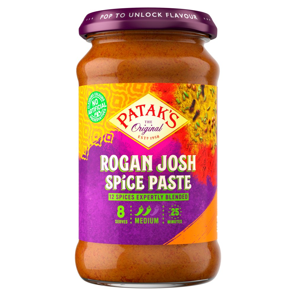 Patak's The Original Rogan Josh Spice Paste 283g