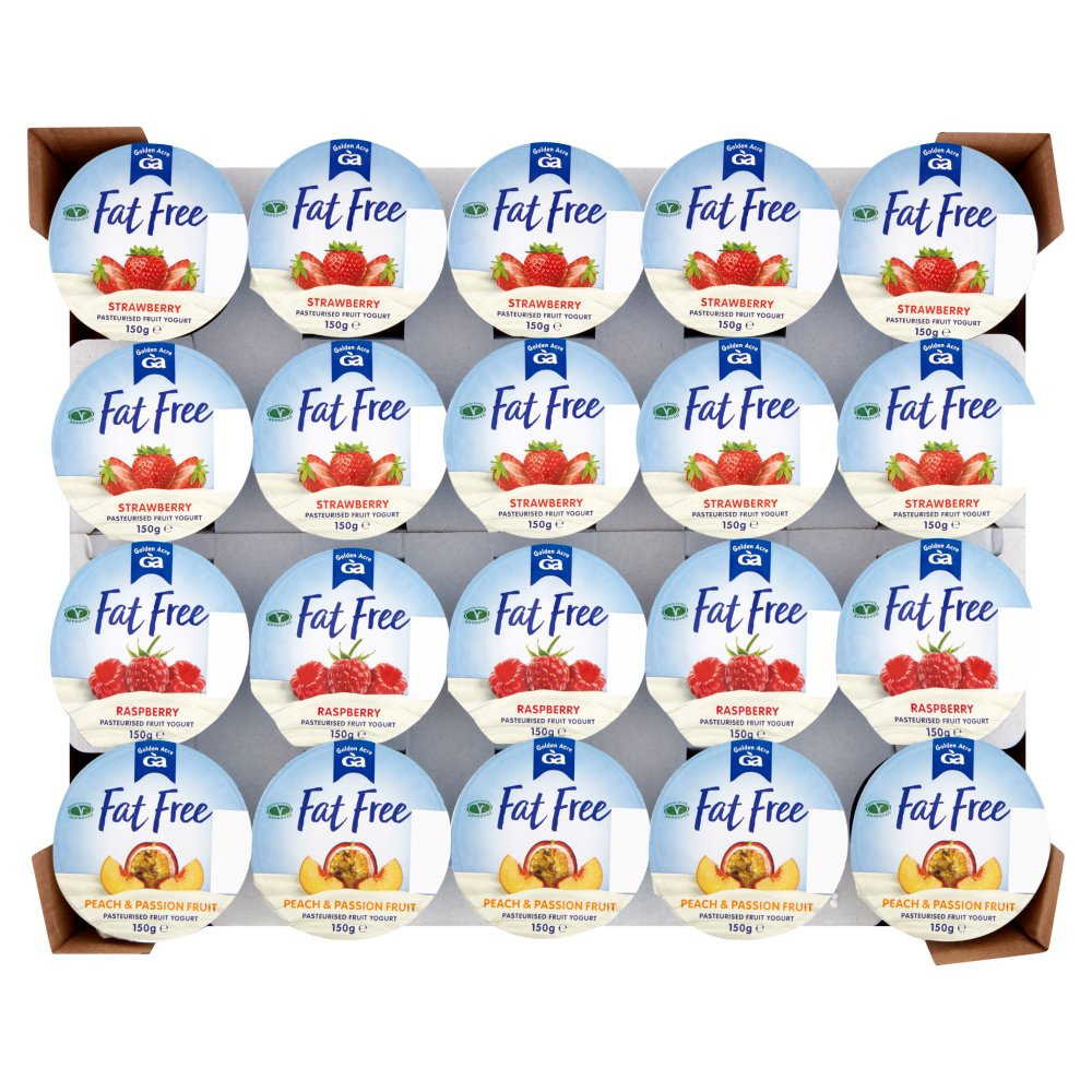 Golden Acre Fat Free Long Life Assorted Yogurt