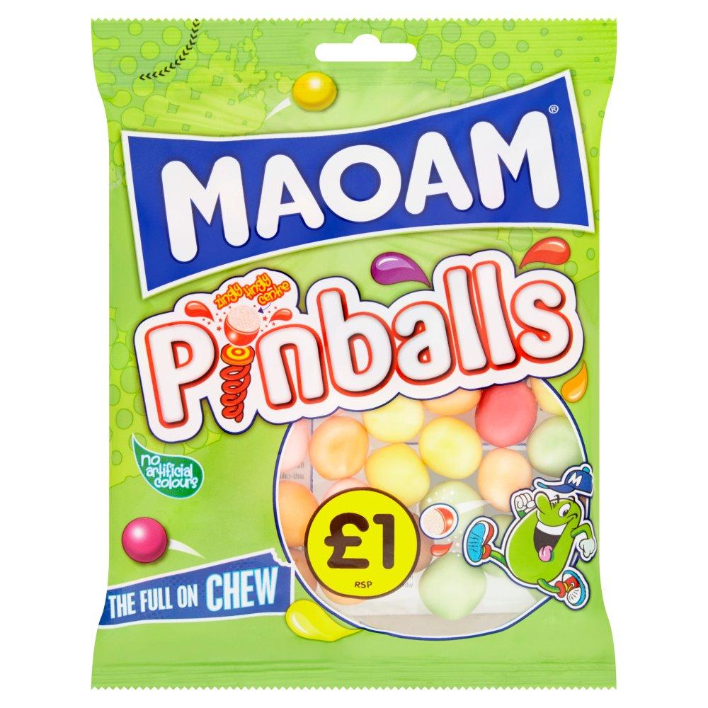 MAOAM Pinballs Bag 160g £1PM