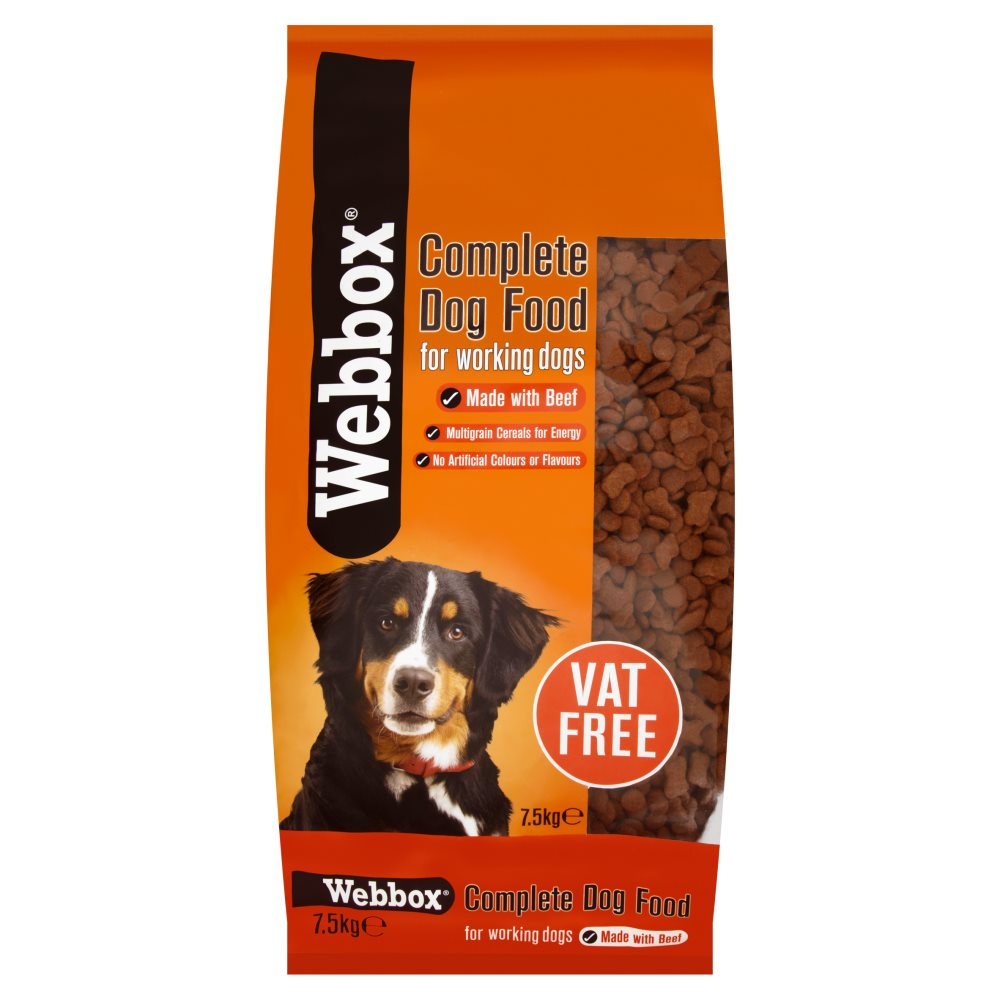 Webbox Complete Working Dog PM £5.99