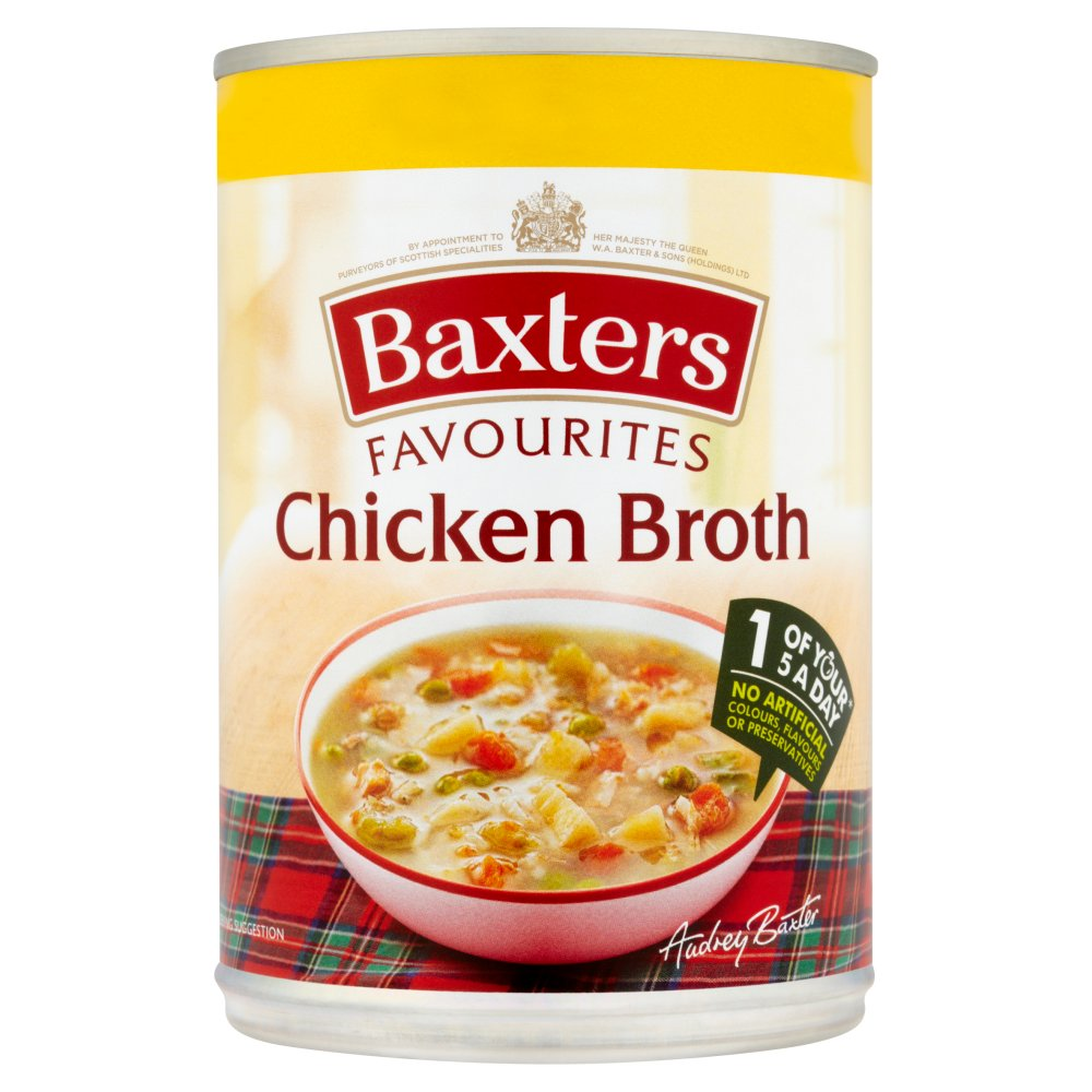 Baxters Favourites Chicken Broth PM £1.09