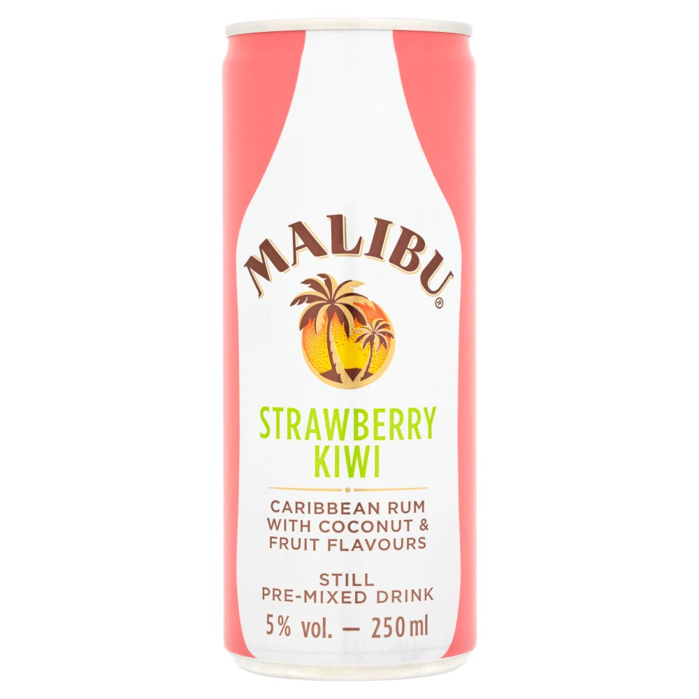 Malibu Cans Strawberry & Kiwi