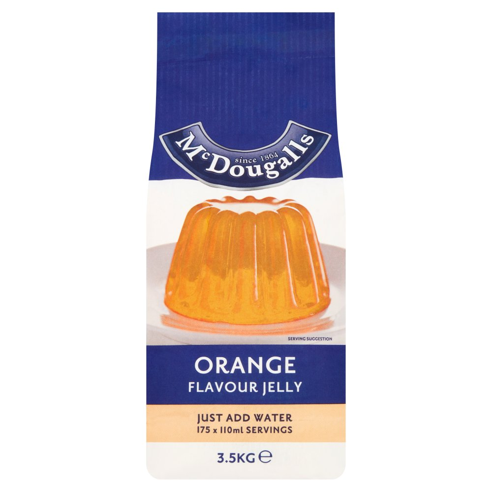 Mcdougalls Jelly Cryst Orange