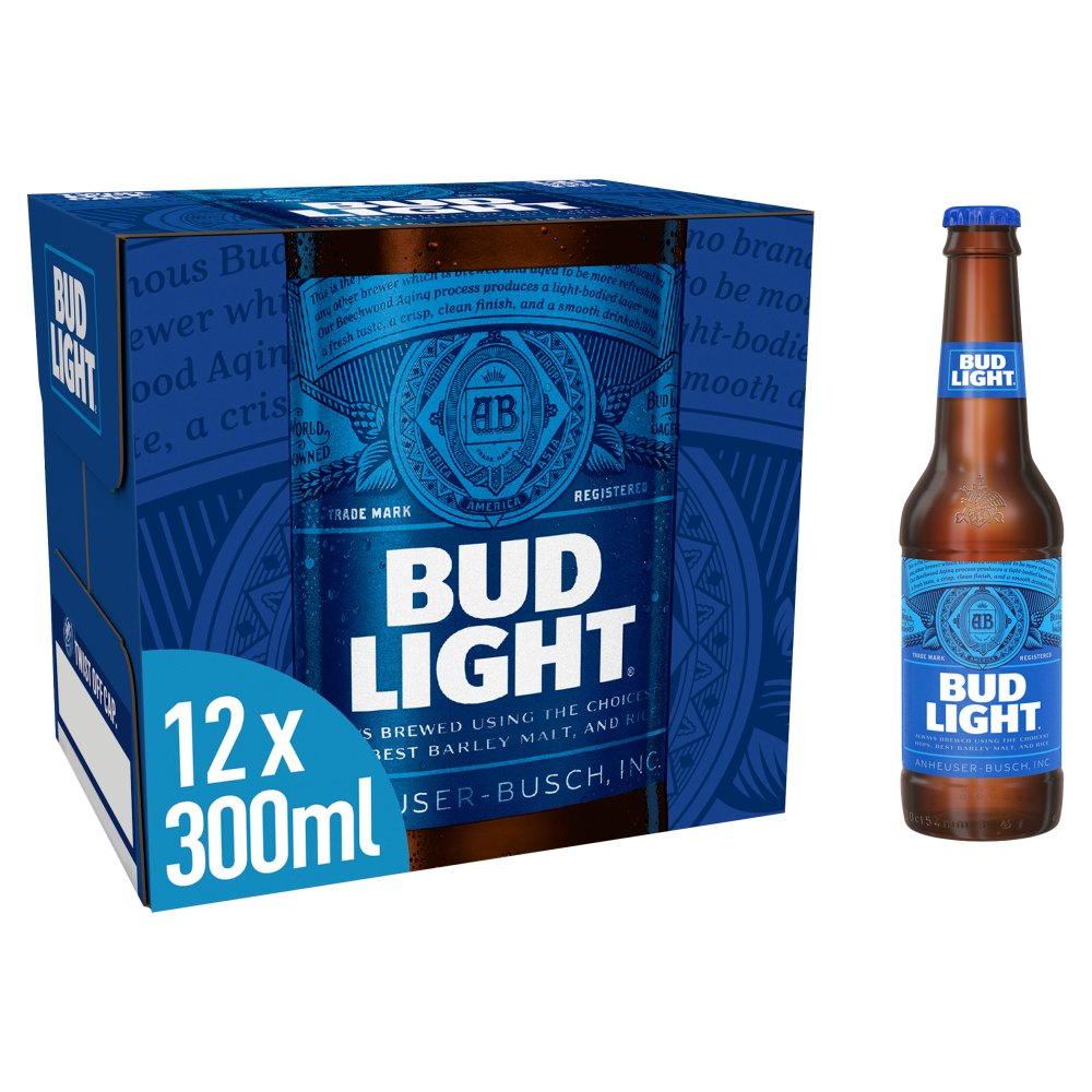 Bud Light 12 X 300ml